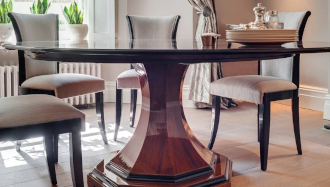 Bespoke dining table interior design
