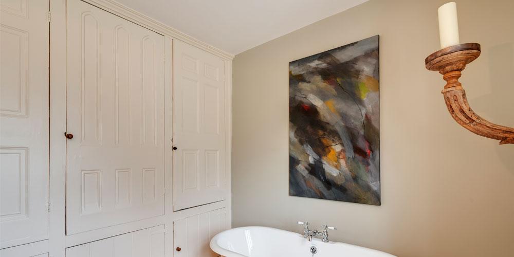 devon architects Salcombe family bathroom