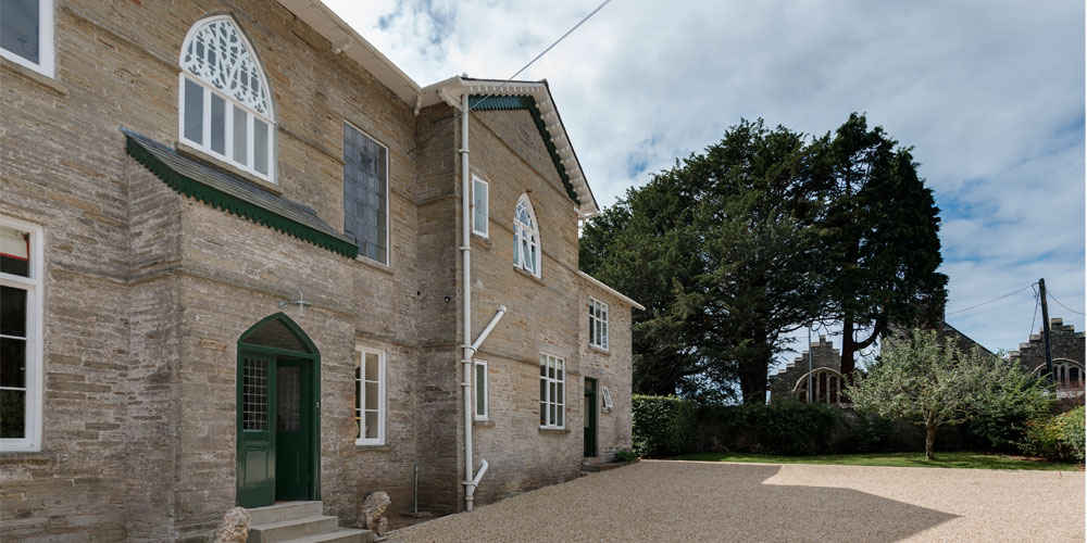 devon architects listed building