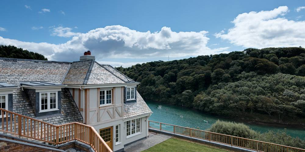 Devon Architects Coastal Home Exterior