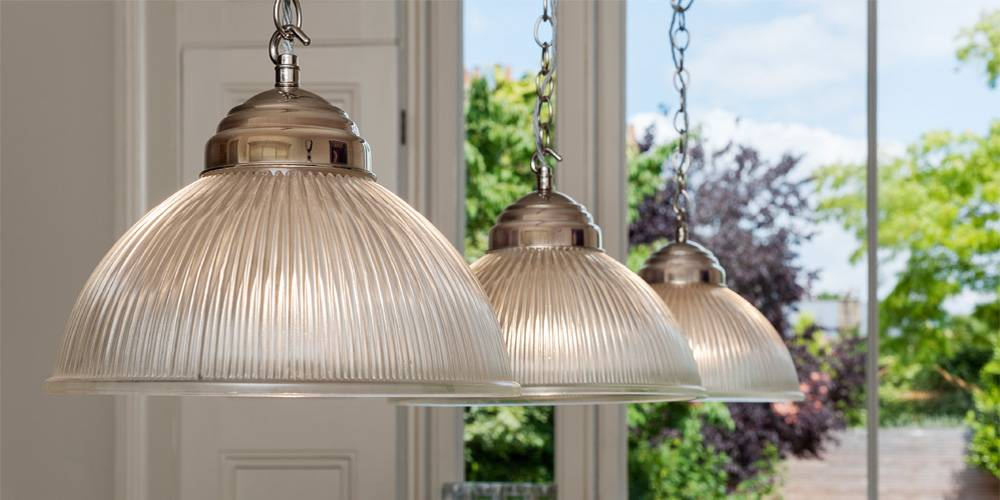 Devon Architects London Townhouse Interior Design Bespoke 3 piece pendent light