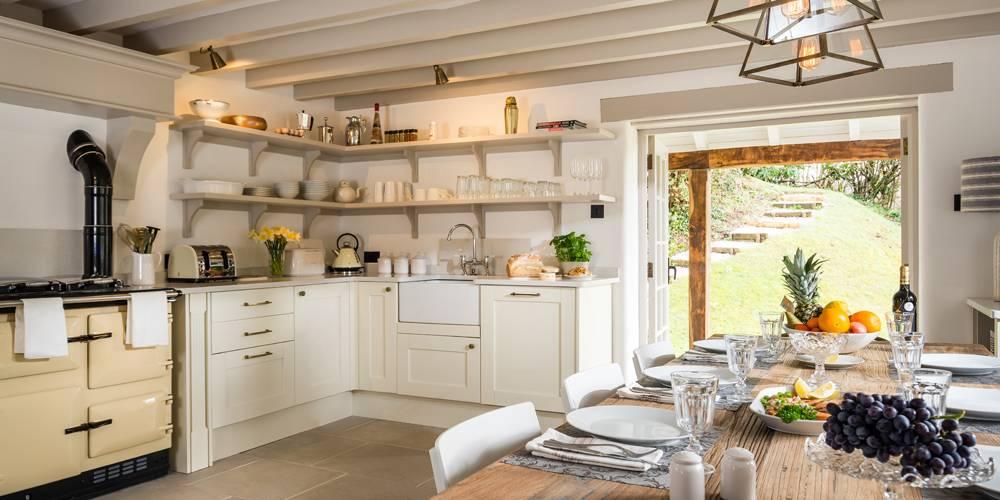 Devon Architects Unique Homestays Kitchen