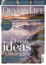 devon life jan 18 cover
