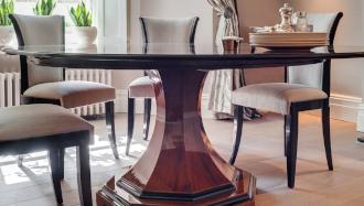 Bespoke dining table interior design