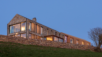 New House in Cornwall by Devon Architects Woodford Architecture and Interiors thumb