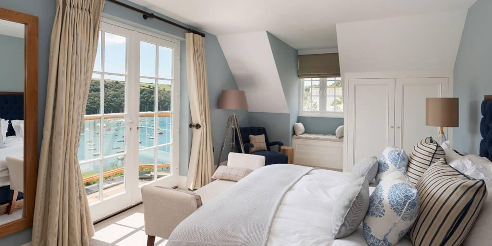 Devon Architects Coastal Home Master Bedroom
