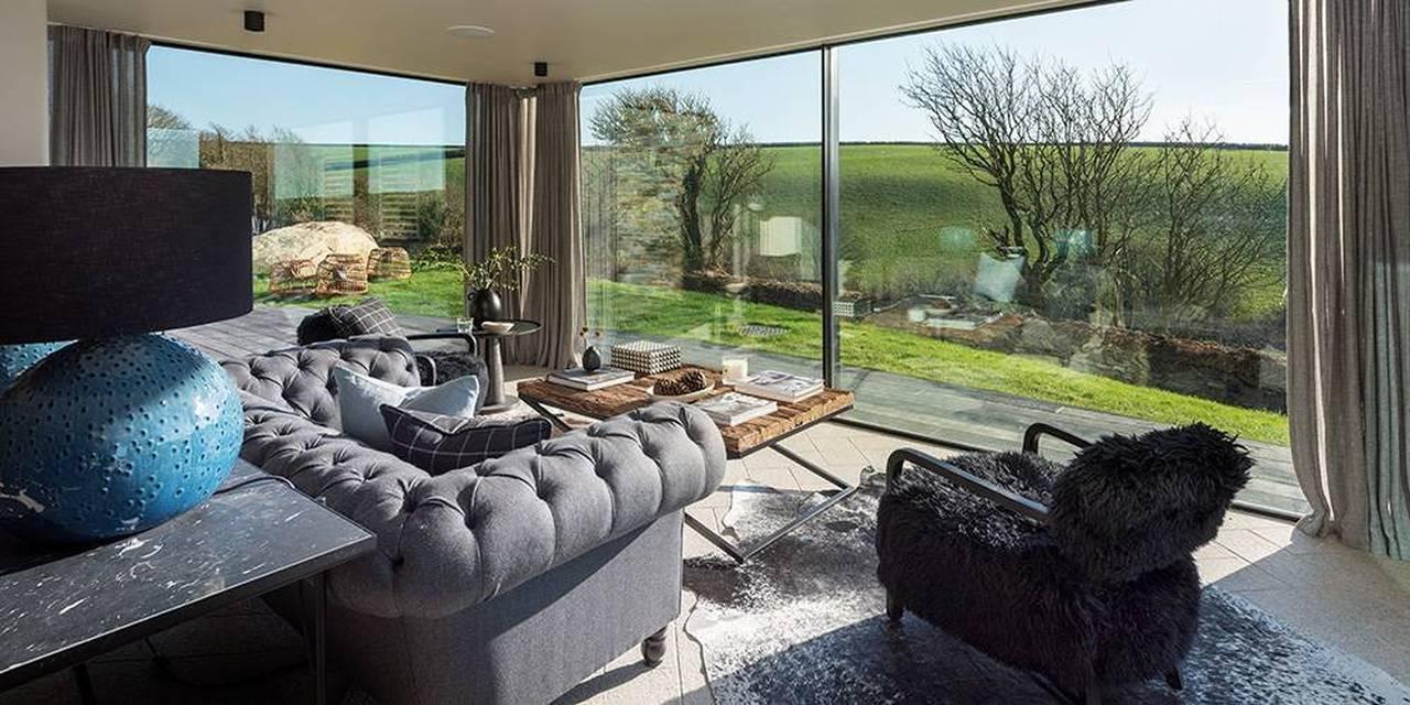Architects Devon sun room view