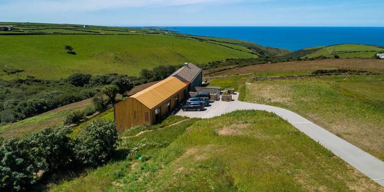 Cornwall Coastal Home View
