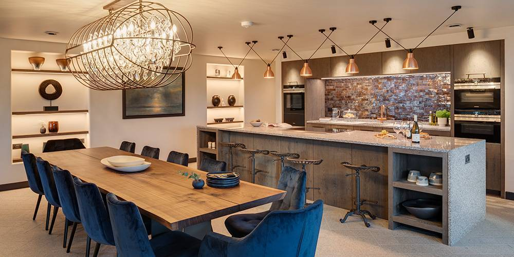 Cornwall architects kicthen dining