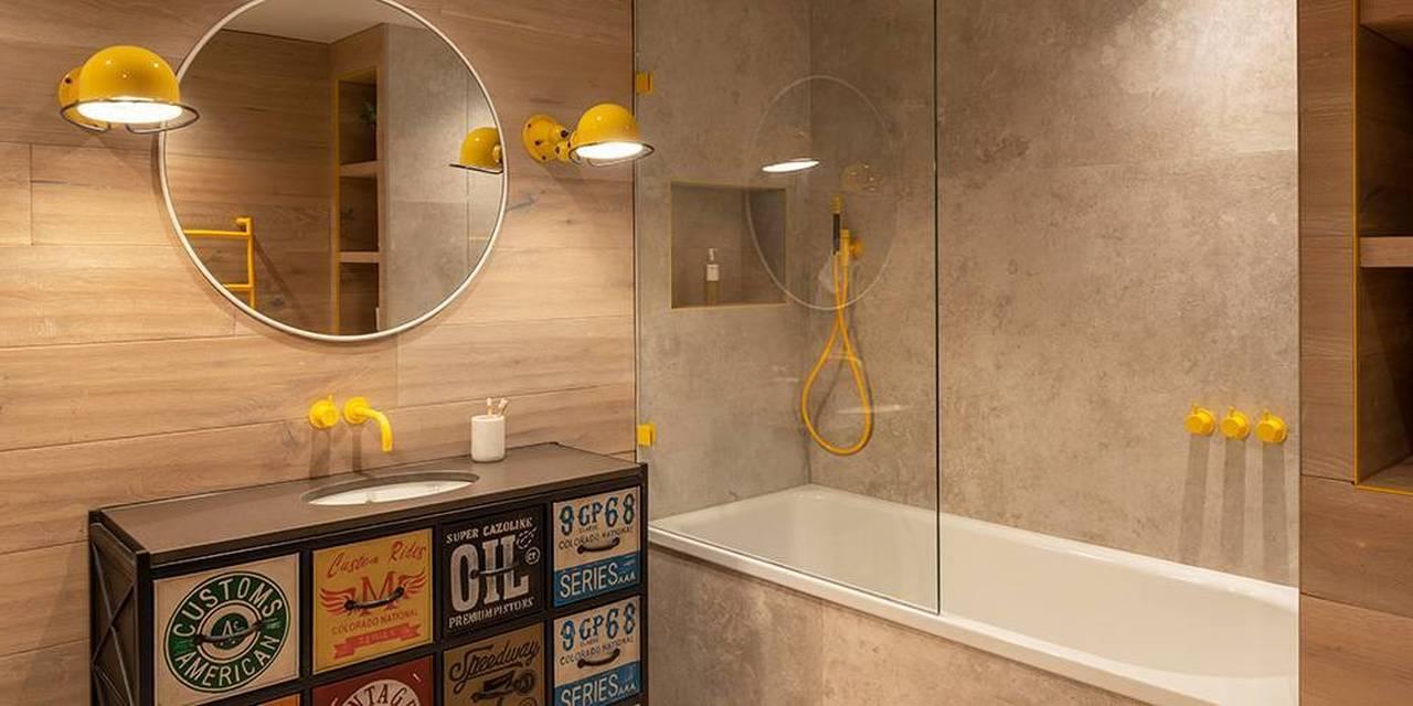 Devon architects childrens bathroom