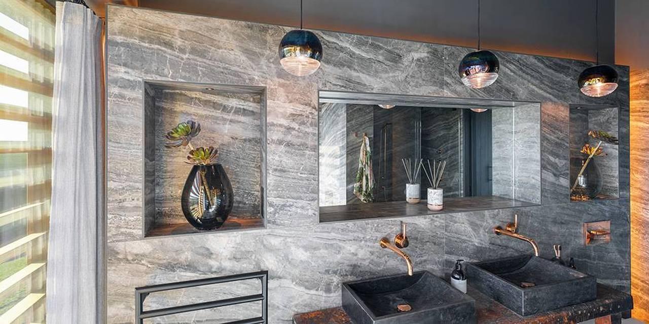 Devon architects master bathroom