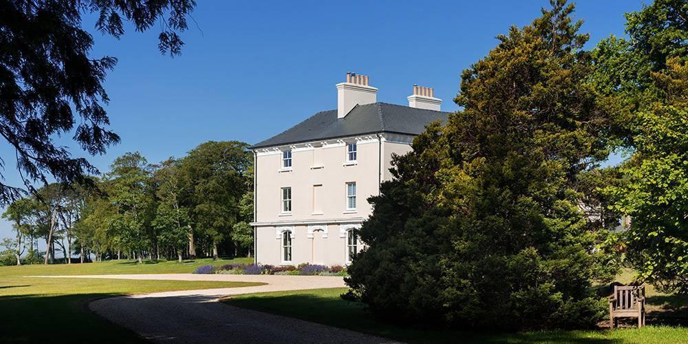 Devon architects manor house landscape extension