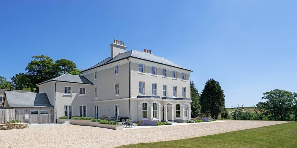 Devon architects manor house refurbishment