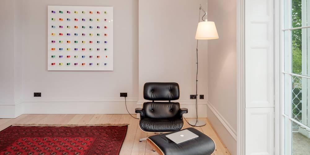 Architects Devon furniture and artwork