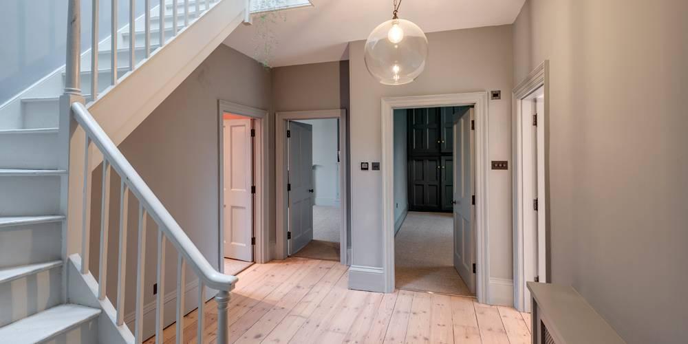 Architects Devon hallway landing