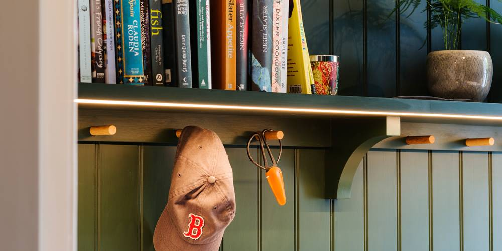 Devon architects pantry joinery details