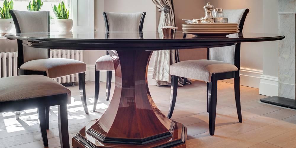 Devon Architects London Townhouse Interior Design Bespoke dining table interior design