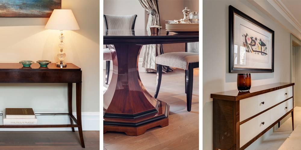 Devon Architects London Townhouse Interior Design Bespoke furniture designs
