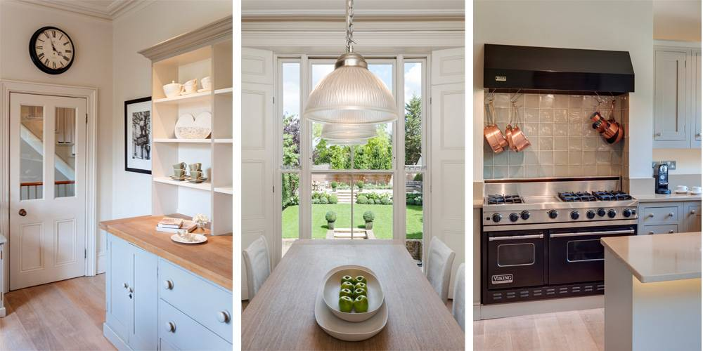 Exeter Architects Devon London Townhouse Interior Design Kitchen portraits