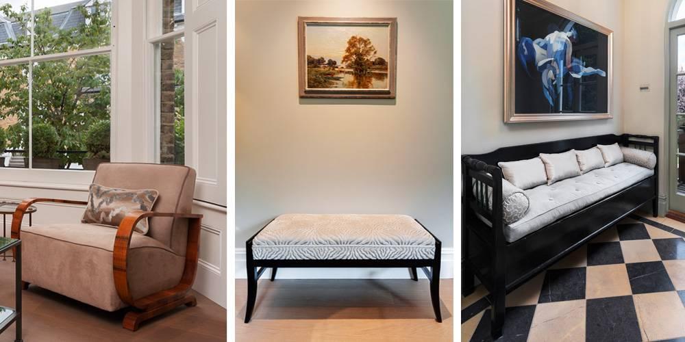 Exeter Architects Devon London Townhouse Interior Design Restored furniture interior design