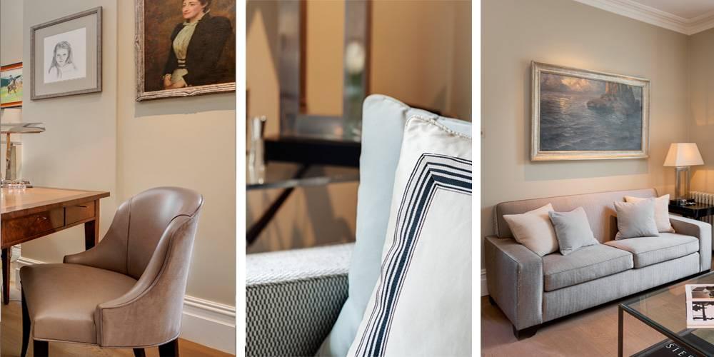 Exeter Architects Devon London Townhouse Interior Design Soft furnishing interior decoration