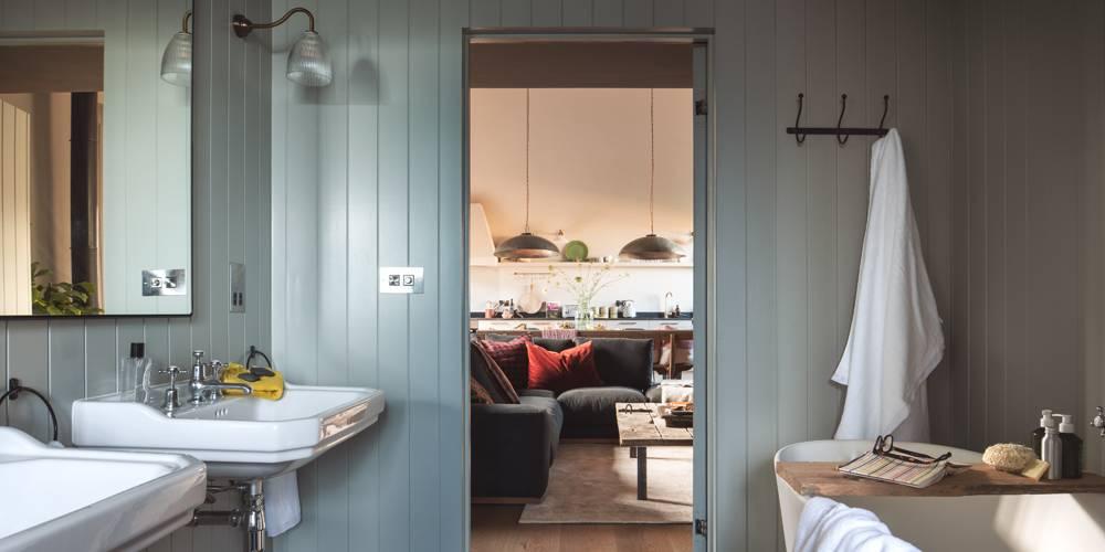 Devon barn interior design