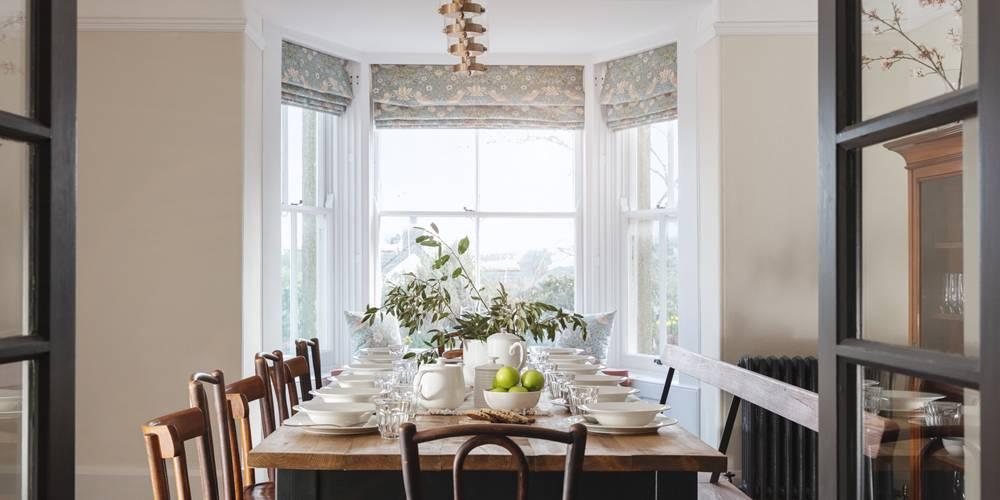Informal Dining bay window