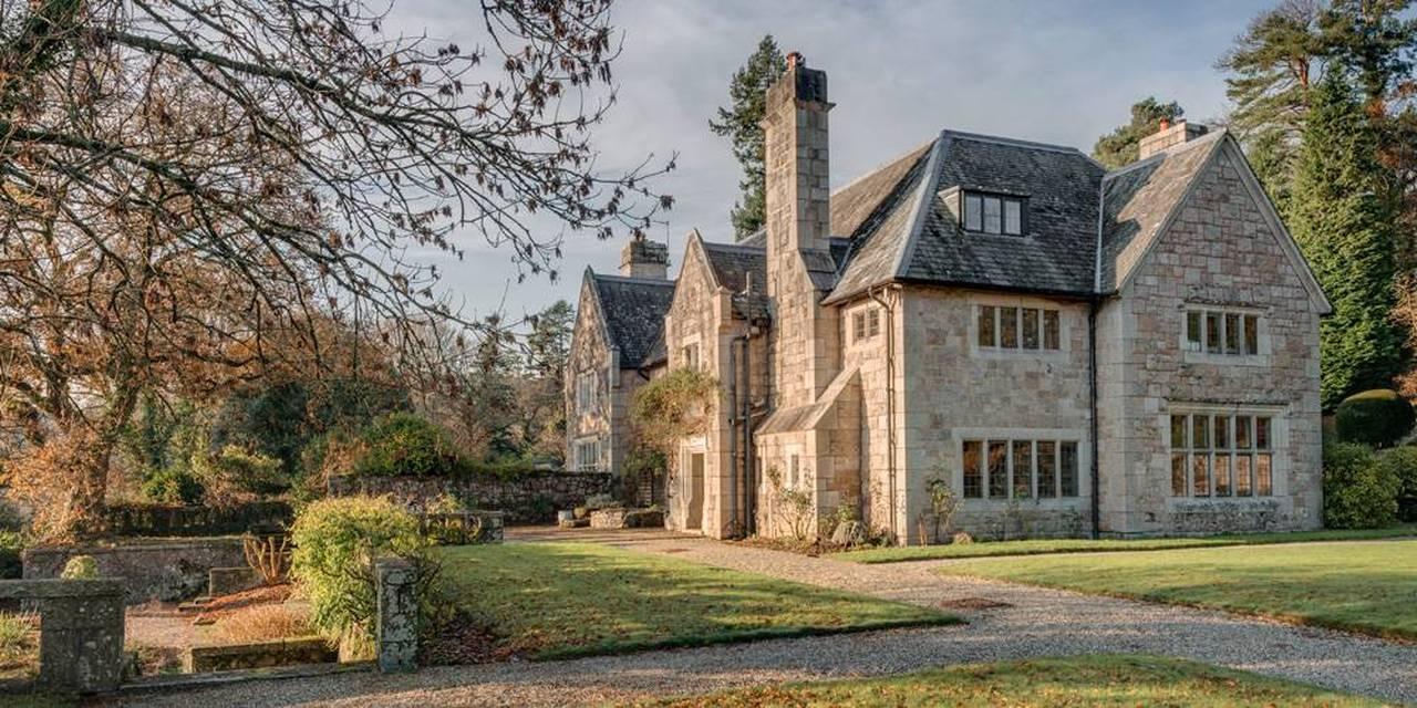 Listed manor House Dartmoor Devon architect