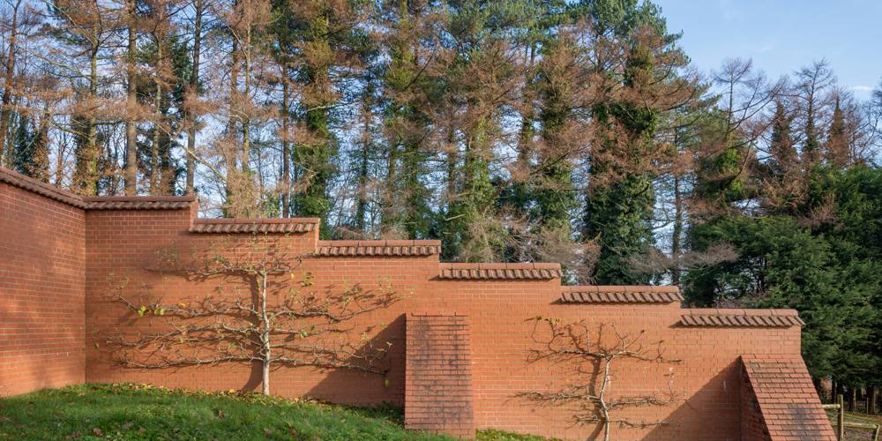 Manor House Devon walled garden
