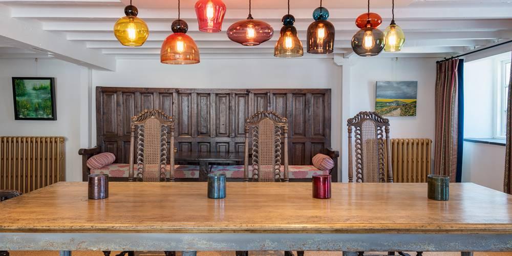 Devon Architects Dining room pendant lights