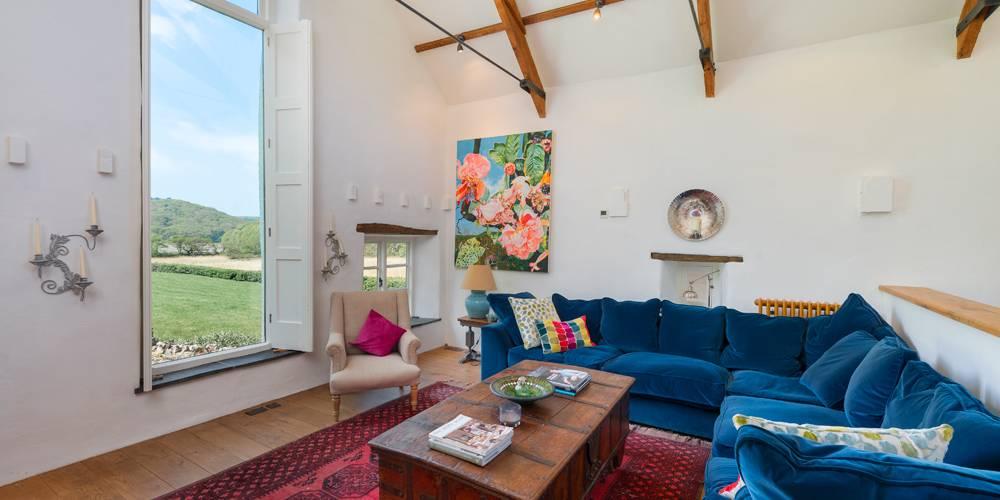 Devon Architects Living room view