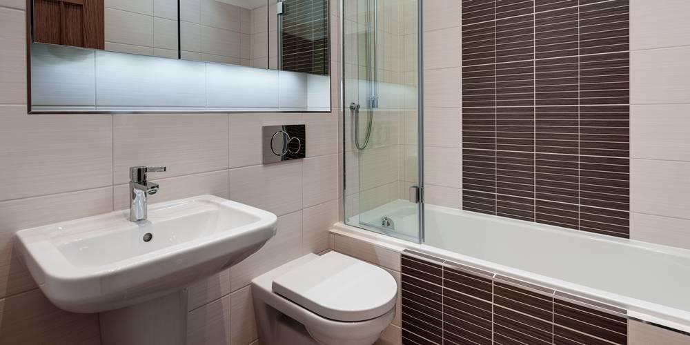 Dartmoor national park new housing Yelverton bathroom