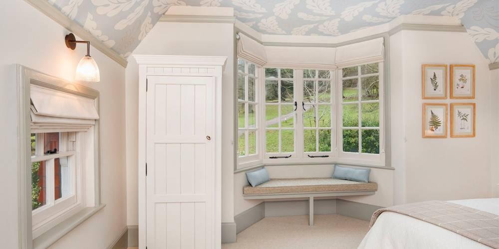 Devon Interior Design National Trust Holiday Cottage Bedroom