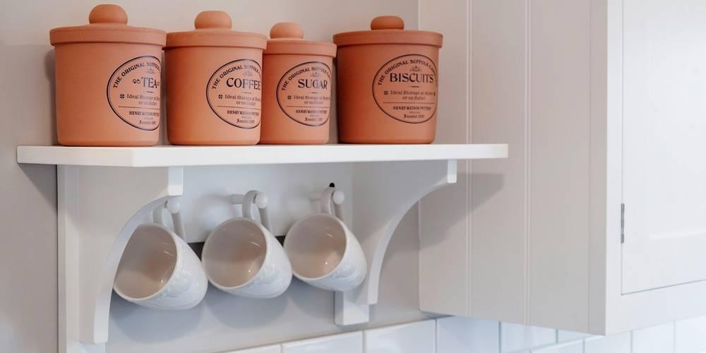 Devon Interior Design National Trust Holiday Cottage Kitchen