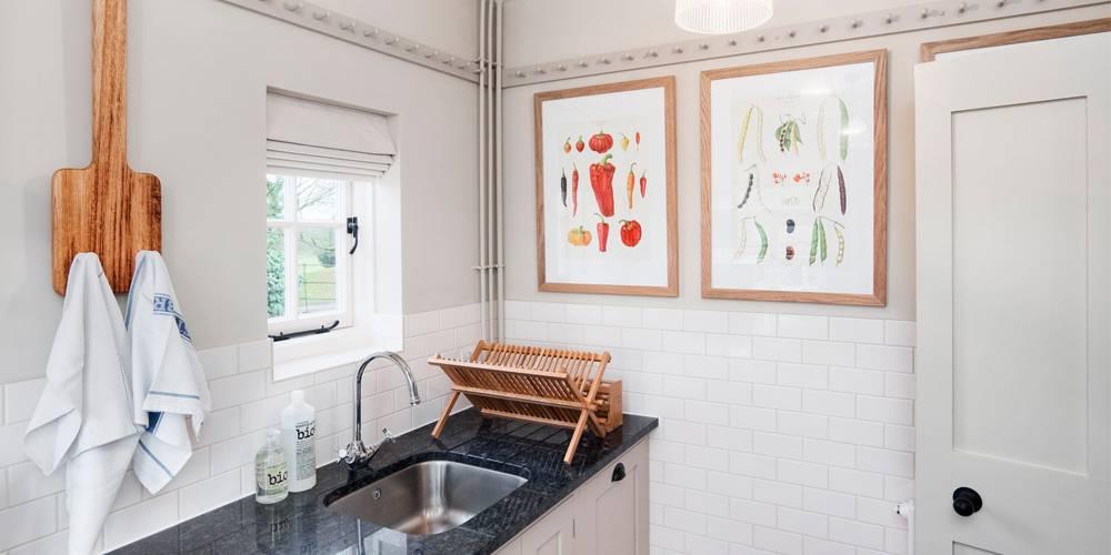 Interior Design Devon National Trust Holiday Cottage Kitchen