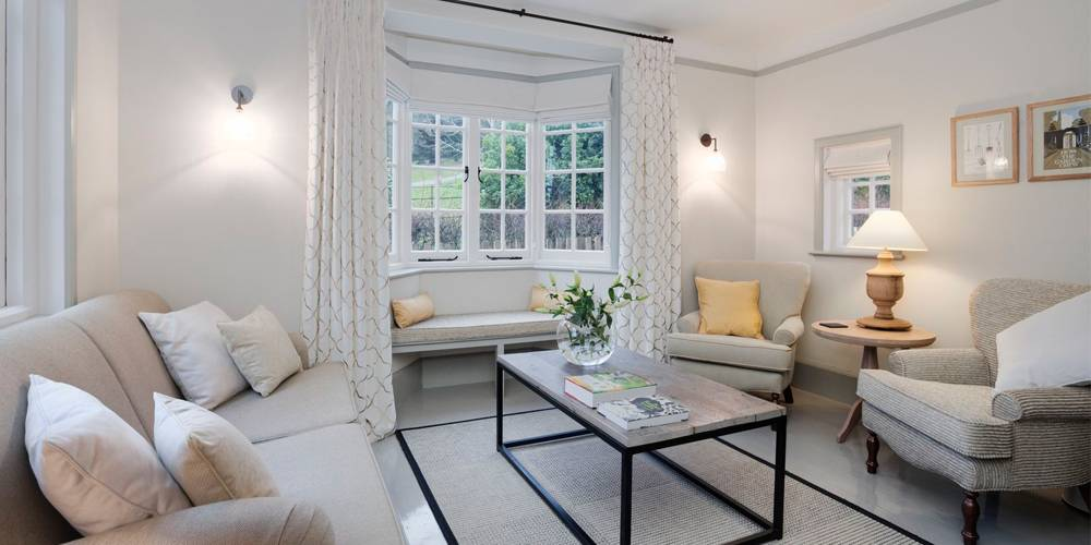 Interior Design Devon National Trust Holiday Cottage Lounge