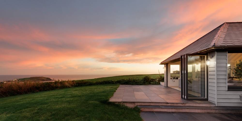 Architects South Hams Burgh Island Sunset