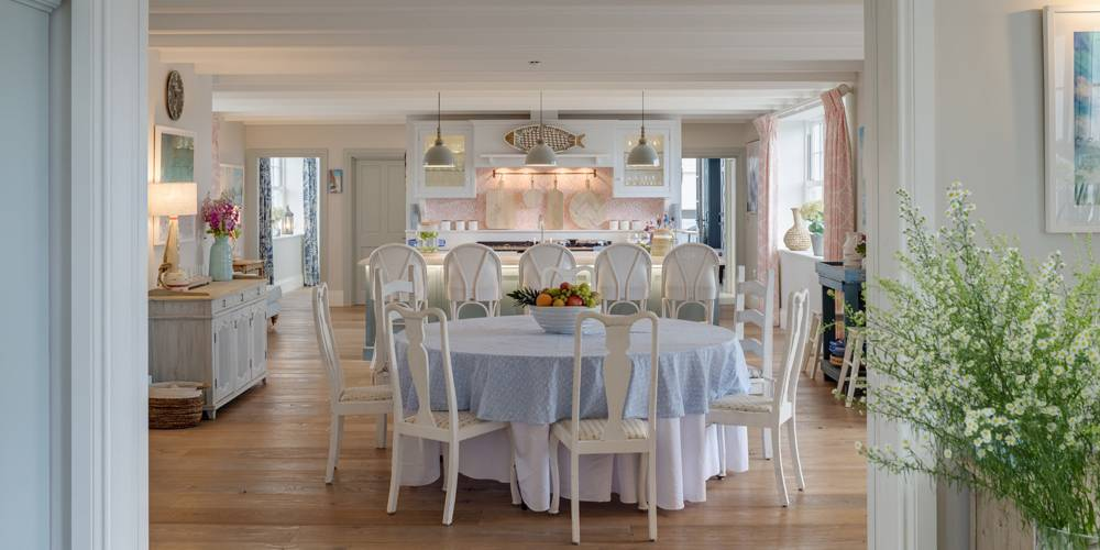 Architects Cornwall hamptons style dining