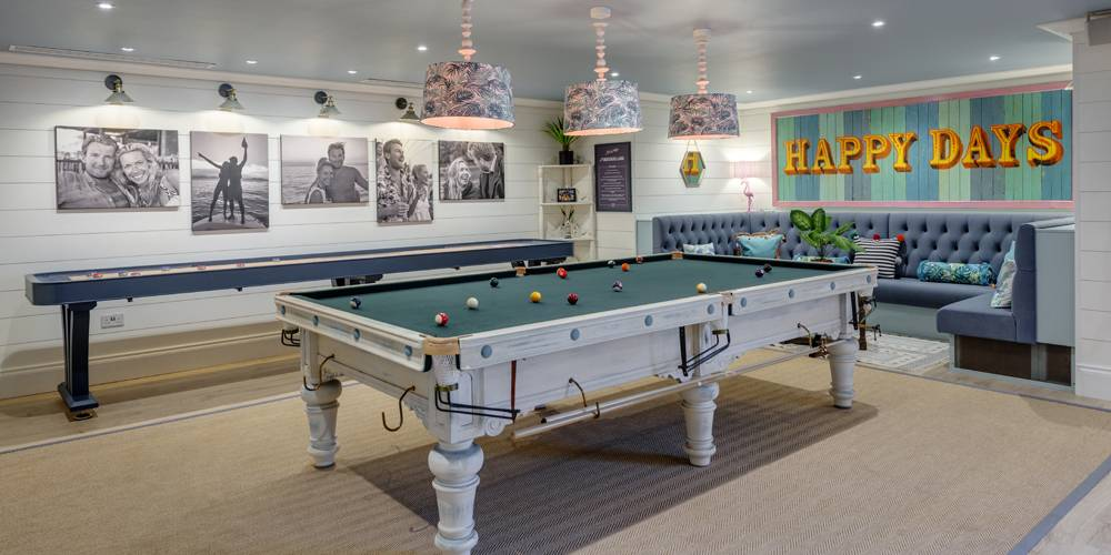 Architects Dartmoor Devon pool table and games room