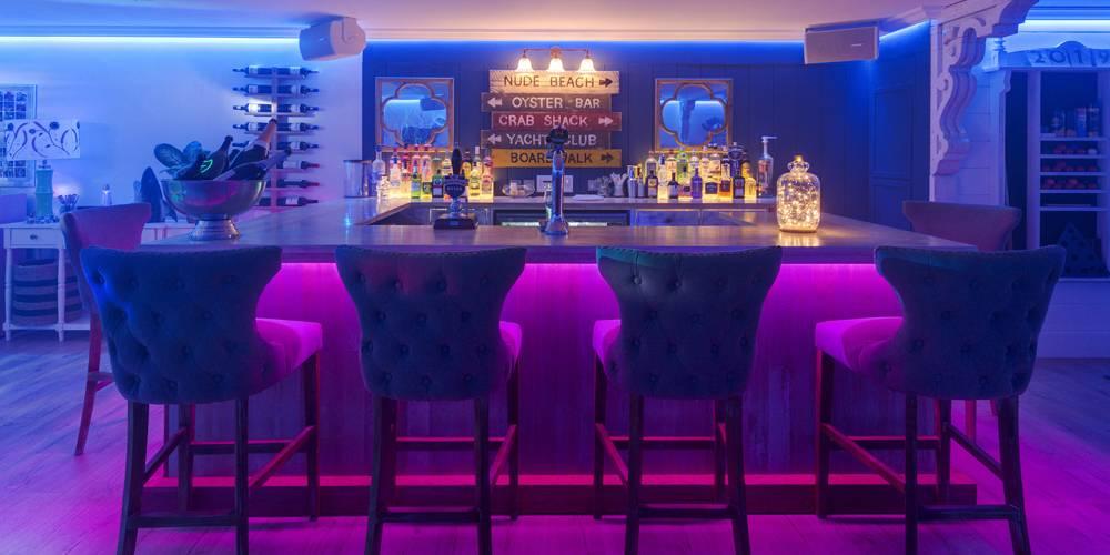 Architects Devon bar area