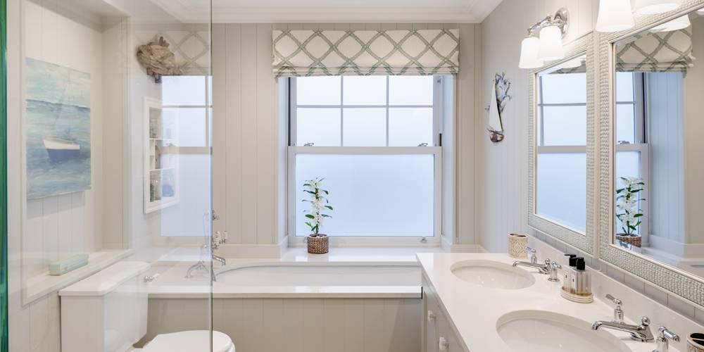 Architects Devon guest bathroom hamptons style