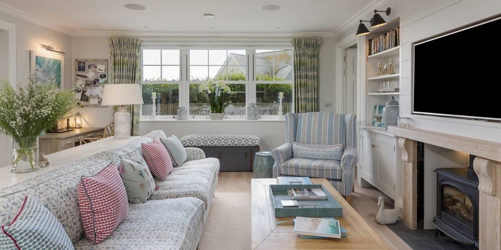 Architects Salcombe Hamptons Style Snug