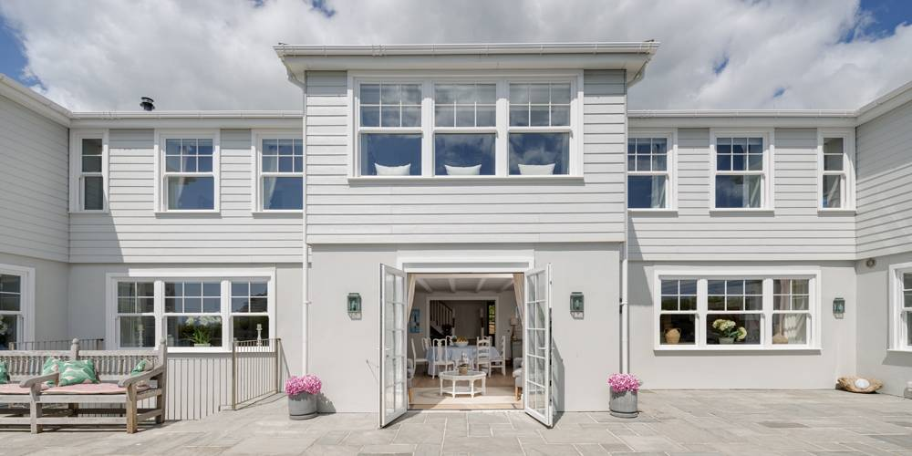 Interior design Devon Hamptons style facade