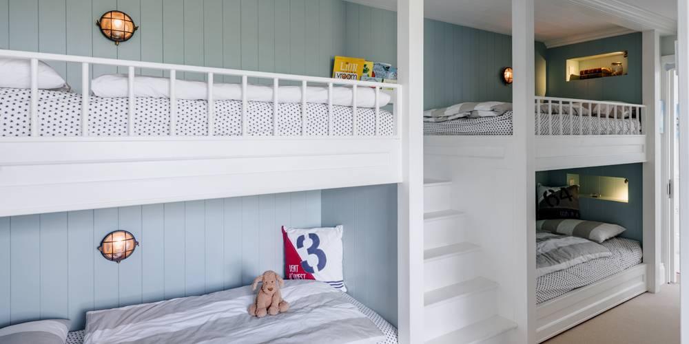 Interior design Devon childrens bunk beds
